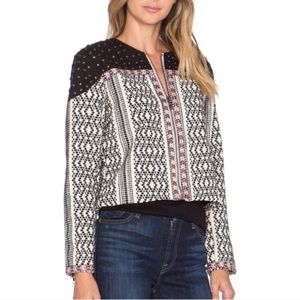 Tularosa Booker Studded Jacket Embroidered Small